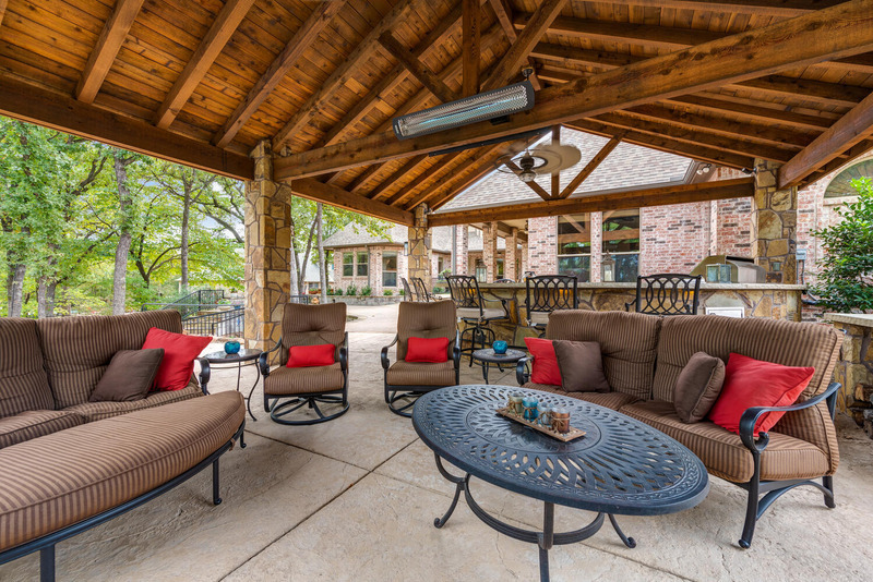 Outdoor Living - Covered Patio Project by Lawn Connections