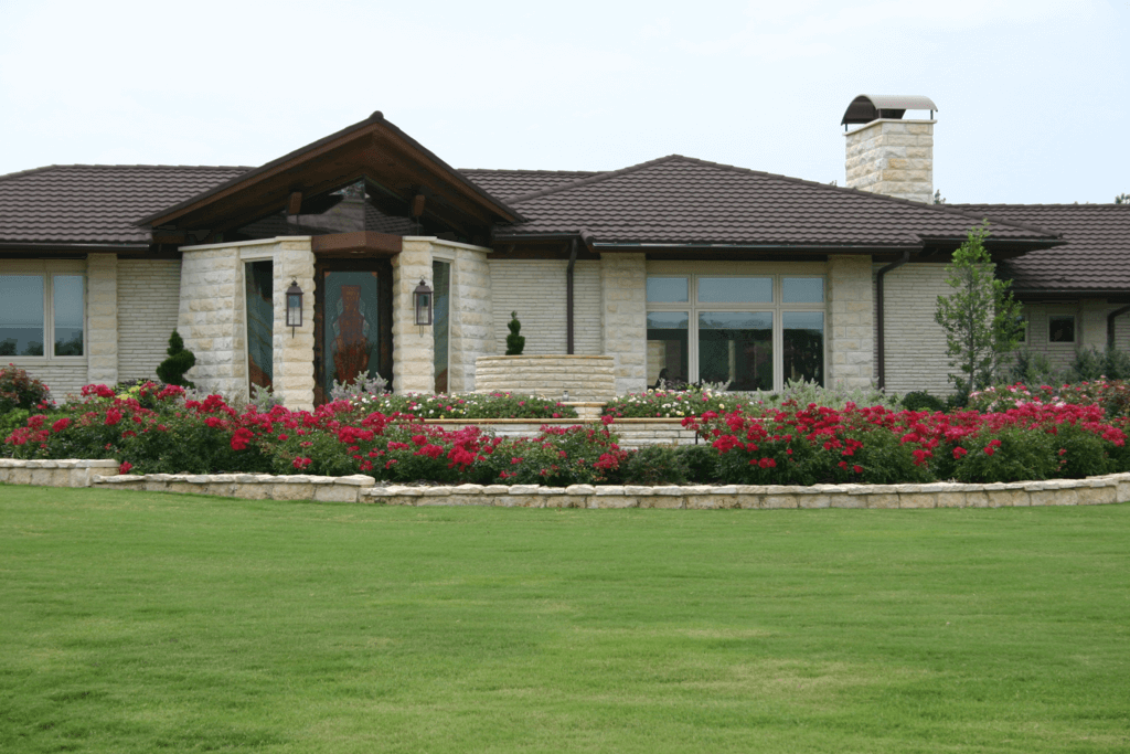 Landscaping in Flower Mound