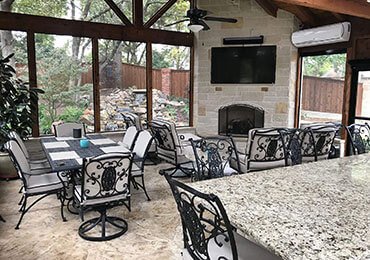 Outdoor Living and Entertaining